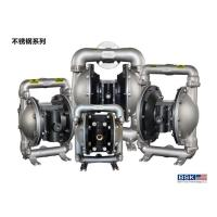 China Pneumatic Vacuum Stainless Steel Diaphragm Pump With Flap Valves wholesale