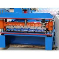 China Galvanised Steel Sheets Corrugation Roof Panel Roll Forming Machine 12 Months Warranty wholesale