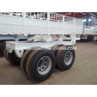 China 2 Axles Semi Trailer Tow Dolly Trailer Two Or Four Wheels With High Pull Strength wholesale