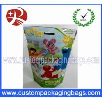 Quality Customer Full printing Plastic Ziplock Stand Up Pouches Biscuits Packaging for sale