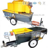 China Exterior wall plastering pumping cement mortar mixer sprayer for house building wholesale