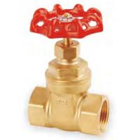 "China Threaded 175Psi 1/2"" OS & Y Brass Gate Valve For Oil / Gas / Water wholesale"