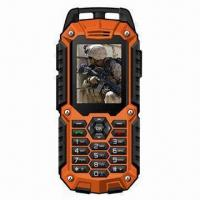 China IP67 Waterproof Rugged Quad-band GSM Mobile Phone with Dual-SIM Card wholesale