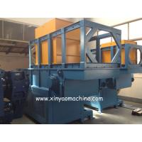 China Full Automatic Single Shaft Plastic Shredder Machine With PLC Programmel Control wholesale