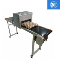 China Egg Continuous Inkjet Printer Personalized Configuration Integrated Rack wholesale