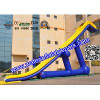 Quality Giant  Pool Slides Inflatable Water Games  With PVC Tarpaulin for sale