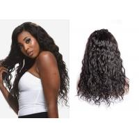 China No Smell Black Remy Lace Front Wigs With Baby Hair Easy To Restyle Dye wholesale