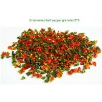 Quality Organically-grown vegetable Colored Bell Pepper 1*3mm,3*3mm,5*5mm Air-dried Red Pepper for sale