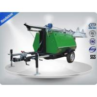 China Portable LED Light Towers / Telescoping Mast Trailer Mounted Light Towers wholesale