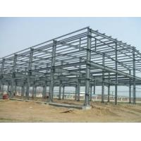 China Q235 / Q345 Grade Simple Industrial Steel Structures , Prefab Factory Steel Buildings wholesale
