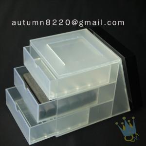 China BO (26) colored acrylic box wholesale