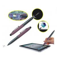 China 3 In 1 Red Laser Pointer Pen With Capacitive Stylus Pen LED Flashlight wholesale