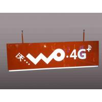 China Telecom Operators Service Rectangular Shaped Sign Double Sides For Wayfinding wholesale