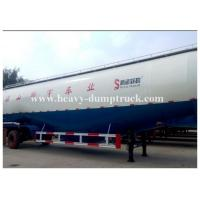 China Customized v type dry bulk cement trailer with 3 axles 45cbm capacity with warranty wholesale