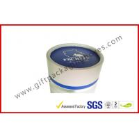 China Offset Printed Cylindrical Wine Packaging Boxes , Embossed Custom Paper Board Packaging Boxes wholesale