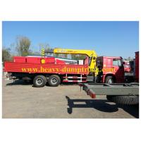 China Heavy Duty Cranes  Sinotruk howo 6X4 290hp Euro II Emission HLQ5252GXF wholesale