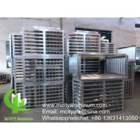 China Outdoor Air Conditioner Metal Cover 1.5-10mm Aluminum Thickness CNC Processing wholesale