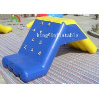 China Custom Stable Inflatable Water Toys PVC Floating Slide For Water Park With Air Pump wholesale