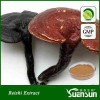 China Organic ganoderma lucidum reshi mushroom powder best price 10%-50% Polysaccharides wholesale
