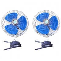 China Blue And Silver Car Cooling Fan 12V/24V Made In China Provide OEM Service wholesale