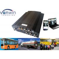 Bus GPS 3G Mobile DVR CCTV Recording , HDD 4 Channel Car DVR