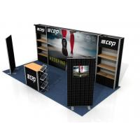 Quality Custom Print Trade Show Booth Displays , Exhibition Portable Trade Show Booths for sale