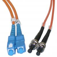 China Duplex ST to SC Multimode Fiber Optic Patch Cord for Telecommunication Networks wholesale