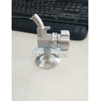 China Manual Aseptic Sample Valve Food Grade Stainless Steel Sanitary Wine Sample Valve/Beer Sample Valve wholesale