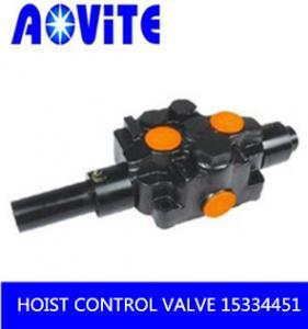 China TR100 truck body hoist control valve 15334451  15301345 on sale