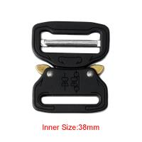 China 38mm Strong Quick Release Cobra Insert Buckle , Durable Tactical Belt Buckle wholesale