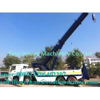China Tow Truck Wrecker Howo Obstacle Tractor Truck 20 Ton Liftting Capacity wholesale