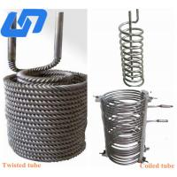 China industrial titanium tube coil for aquarium seamless tube thick wall from titanium tube manufacturers wholesale