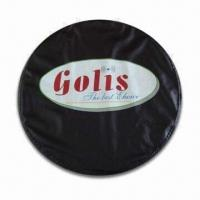 China Car Spare Tire Cover, Made of PVC Material, Silkscreen Printing are Available for Logos and Patterns wholesale