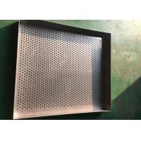 China Ultra Fine Stainless Steel Drying Tray Perforated Metal Mesh For Baking wholesale