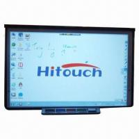 China 92-inch Electronic/CCD Whiteboard, Supports Multi-fingers Touch, High Resolution wholesale