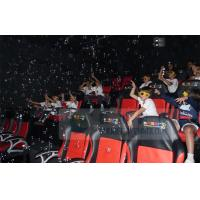 China Crazy 6D Movie Theater , 6D Motion Simulators Experience With Many Kinds Of Special Effects wholesale