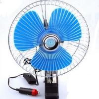 China Plastic Back Guard Car Cooling Fan , Mini Auto Cool Fan With Switch Dc12v wholesale