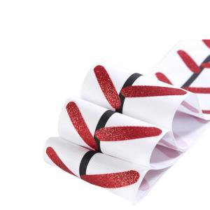 China Grosgrain Personalized Wedding Ribbon , Single Face Wedding Decoration Ribbon wholesale