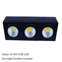 China IP42 high watts COB 45W led down light&LED Grille light for exhibition used wholesale