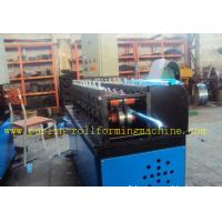 China Light Steel C Truss Roll Former Machine Furring Channel / Roof PLC Control wholesale