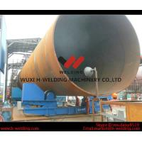 China Pressure Vessel Automatic Conventional Pipe Welding Rotator with PU Roller 10 Ton wholesale