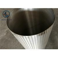 China Stainless Steel Reverse Filter Screen Cylinder Wedge Wire Wound Screen Slot wholesale