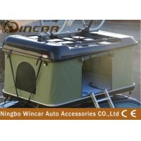 Buy cheap Hard shell firberglass or ABS roof top tent with bike carrier/ rack from wholesalers