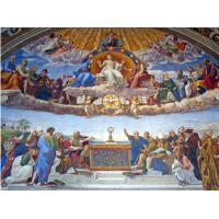 China High Glossy Surface Decorative Acoustic Ceiling Panels Bible Painting wholesale