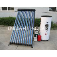 China Single Coil 100L Pressure Solar Water Heater Split Type With 12 Tubes Solar Collector on sale