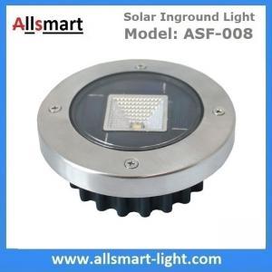 Buy cheap Solar Ground Lights Warm Solar Inground Spotlights White Solar Underground Pathway Lights Outdoor Solar Landscape Light from wholesalers