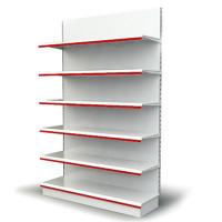China Steel rack cosmetic display shelf cabinet for alcohol wholesale