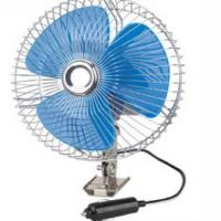 """China Screw Mounting Vehicle Cooling Fans , 8"""" Oscillating Auto Cool Fan In Blue wholesale"""