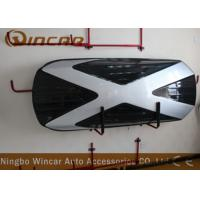 China Capacity 520l Car Roof Boxes Storage ABS Material Lockable With 2 Tone wholesale