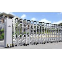 China Residential Electric Retractable Gate With DC Motor wholesale